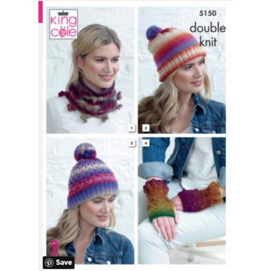 Apparel Accessories Knitted in Riot DK 5150
