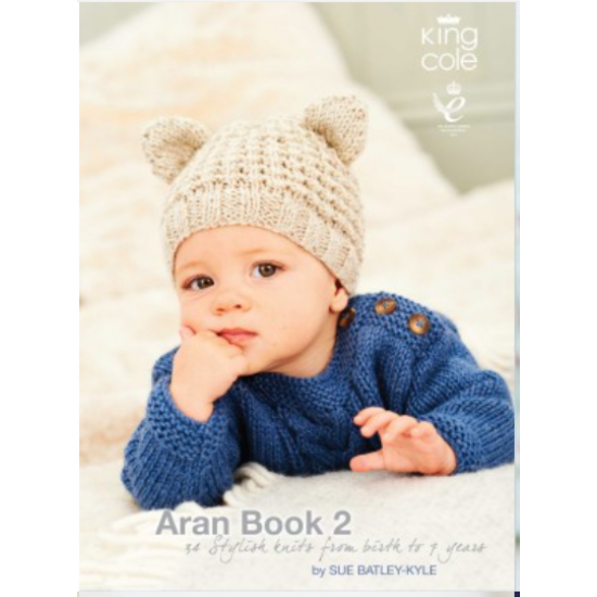 Aran Book 2, Knitting Patterns by King Cole
