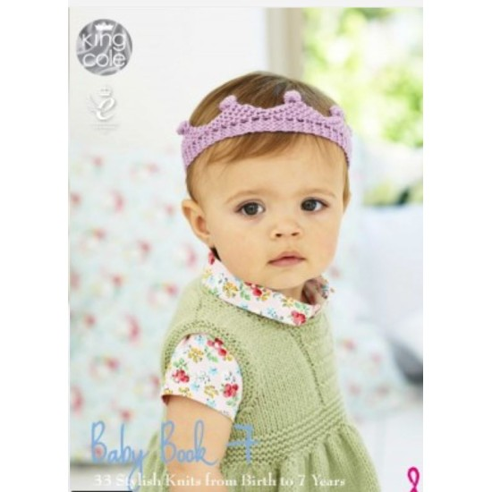 Baby Book 7, Knitting Patterns by King Cole
