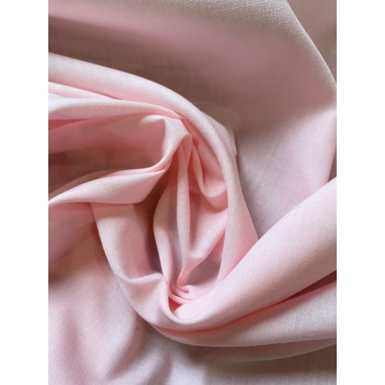 Baby Pink Polycotton