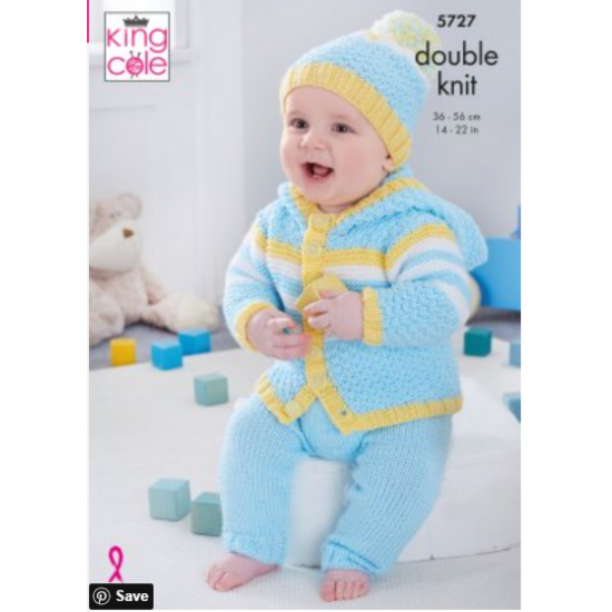 Baby Set: Knitted in Cherished DK - 5727