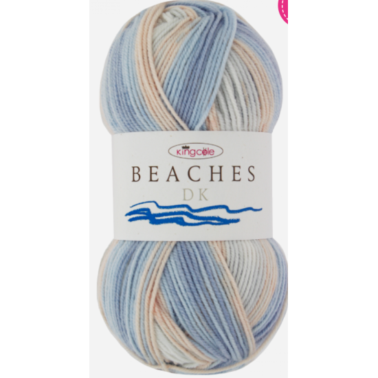 Beaches Double Knitting DK from King Cole