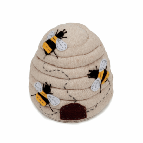 Bee Hive Pincushion