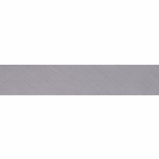 Bias Binding, Polycotton, 2.5m x 25mm, Pale Grey