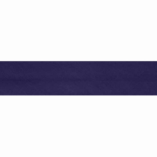 Bias Binding, Polycotton, 2.5m x 25mm, Purple