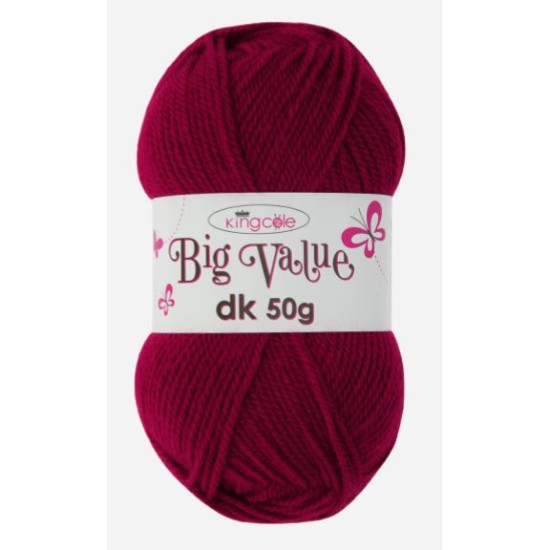 Big Value 50g Double Knitting from King Cole