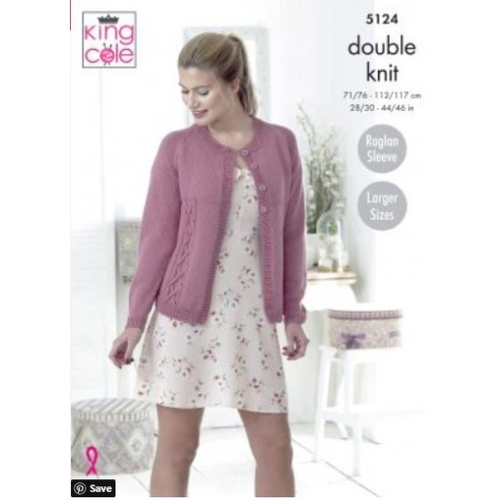 Cardigan & Sweater Knitted in Cottonsoft DK - 5124