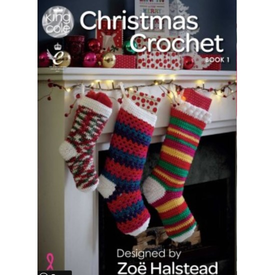 Christmas Crochet book 1 of Crochet Patterns by King Cole