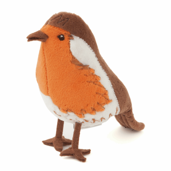 Christmas Robin Pincushion