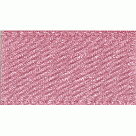 Double Faced Satin Ribbon, 7mm, Pink Mauve