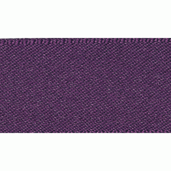 Double Faced Satin Ribbon 3mm, Blackberry