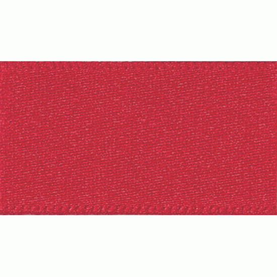 Double Faced Satin Ribbon 3mm, Red