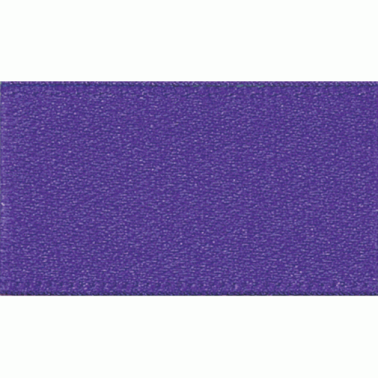 Double Faced Satin Ribbon 7mm, Liberty Purple