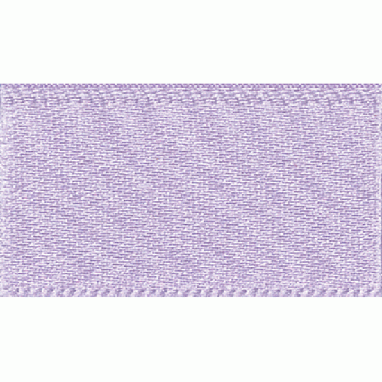 Double Faced Satin Ribbon 7mm, Lilac