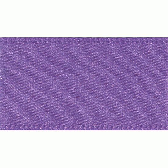 Double Faced Satin Ribbon 7mm, Purple