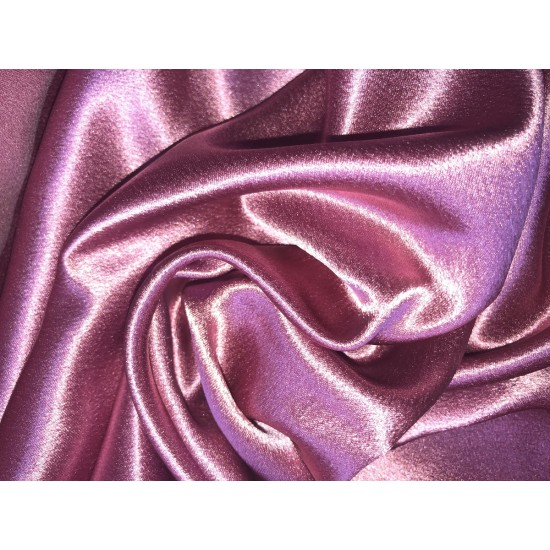 Dusty Pink Polyester Satin