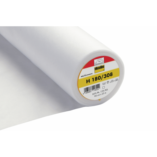 Easy Fuse Ultra Soft Iron on Interlining 90cm:White