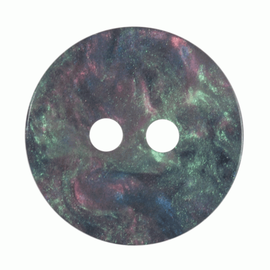 Galaxy Shimmer,15mm 2 Hole Button