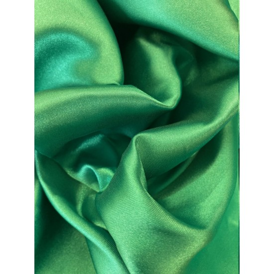 Green Polyester Satin