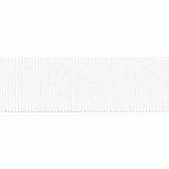 Grosgrain, 40mm, White