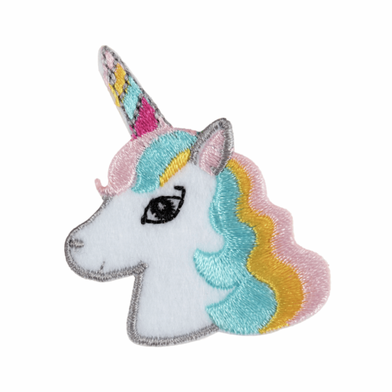 Iron on & Sew on Motif Unicorn