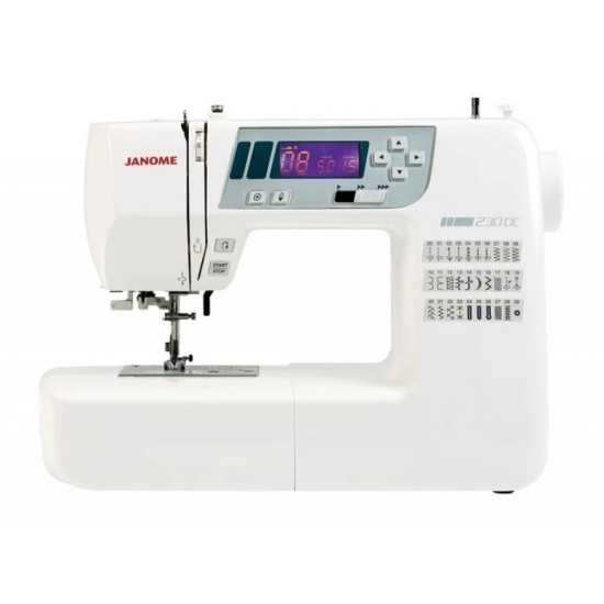 Janome 230DC Computerised Sewing Machine with Extension Table