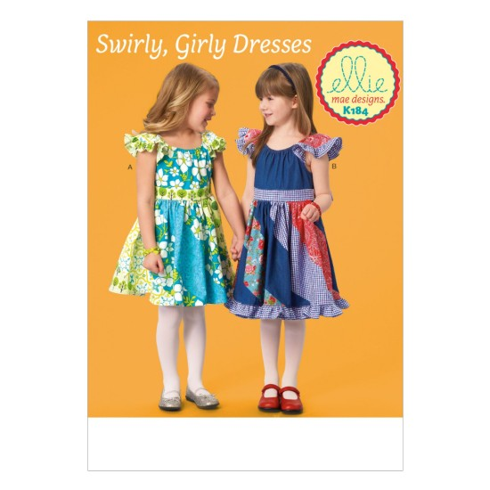 K0184 Girls' Dresses