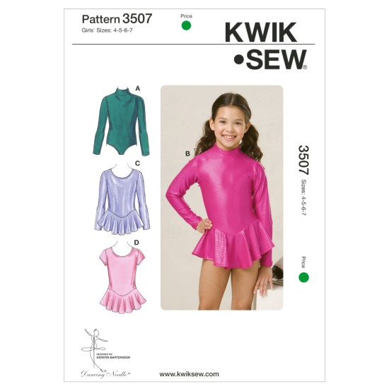 K3507 Leotards (Size 4, 5, 6 & 7)